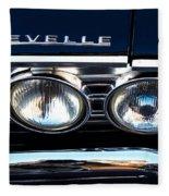 Chevelle Headlight Fleece Blanket