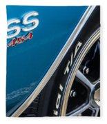 Chevelle Ss 454 Badge Fleece Blanket