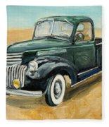 Chevrolet Art Deco Truck Fleece Blanket