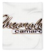 Chevrolet Camaro Emblem Fleece Blanket