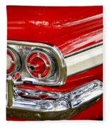 Chevrolet Impala Classic Rear View Fleece Blanket