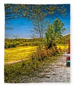 Chevy 34 Sweet Country Road Fleece Blanket
