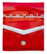Chevy Logo 1957 Fleece Blanket