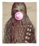 Big Chew Fleece Blanket by Eric Fan