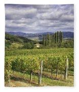 Chianti Country Fleece Blanket
