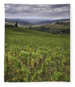 Chianti Region Of Tuscany Fleece Blanket