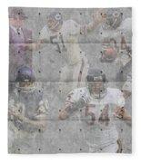 Chicago Bears Legends Fleece Blanket
