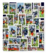 Chicago Bears Training Camp 2014 Collage Pa 01 Fleece Blanket