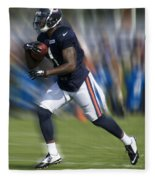 Chicago Bears Training Camp 2014 Moving The Ball 03 Fleece Blanket