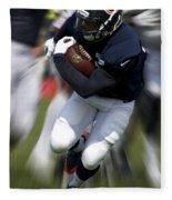 Chicago Bears Training Camp 2014 Moving The Ball 07 Fleece Blanket