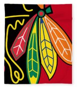 Chicago Blackhawks 2 Fleece Blanket