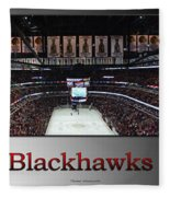 Chicago Blackhawks At Home Panorama Sb Fleece Blanket