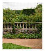 Chicago Botanic Garden Scene Fleece Blanket