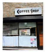 Chicago Storefront 2 Fleece Blanket