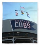 Chicago Cubs Signage Fleece Blanket