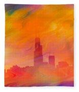 Chicago Fire Fleece Blanket