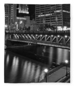 Chicago Nights Fleece Blanket