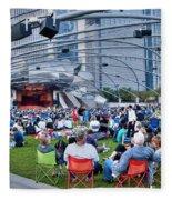 Chicago Outdoor Concert Fleece Blanket