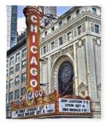 Chicago Theater Fleece Blanket