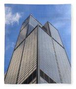 Willis Tower Fleece Blanket