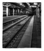 Chicago Union Station Fleece Blanket