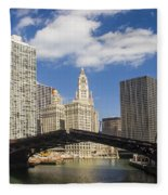 Chicagobridge Up Fleece Blanket