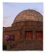 Chicago's Adler Planetarium Fleece Blanket