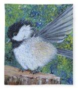 Chickadee Landing Fleece Blanket
