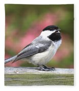 Chickadee Song Fleece Blanket