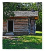 Chickamauga Cabin Fleece Blanket
