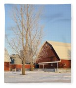 Chickasaw Farm Fleece Blanket