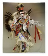 Pow Wow Dreamtime 1 Fleece Blanket