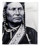 Chief Joseph Nez Perce Leader Fleece Blanket