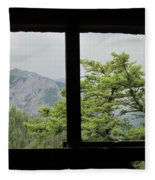 Chief Ouray Mine View Fleece Blanket