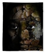 Child Of The Forest Fleece Blanket