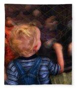 Children - Look At The Baby Fleece Blanket