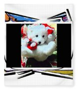 Child's Teddy Bear Fleece Blanket