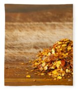 Chilli Seeds Fleece Blanket