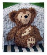 Chilling Bear Fleece Blanket