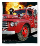 Chilliwack Fire-coming Out Into The Fire Fleece Blanket