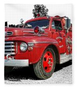 Chilliwack Fire- Mercury Firetruck Fleece Blanket