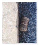 Chimay Wine Cork Fleece Blanket