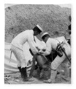 China: Boxer Rebellion, C1901 Fleece Blanket