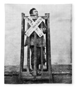 China Punishment, C1870 Fleece Blanket