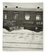 China Railroad, 1918 Fleece Blanket