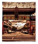 China Town Victoria Fleece Blanket