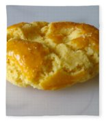 Chinese Almond Cookie Fleece Blanket