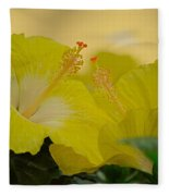 Chinese Rose Duo Fleece Blanket