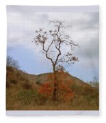 Chino Hills Tree Fleece Blanket