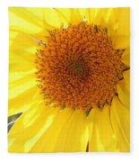 Chipmunk's Peredovik Sunflower Fleece Blanket